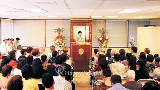 "Master Okawa's World Missionary Tour to ""Spread the Truth to the World"""